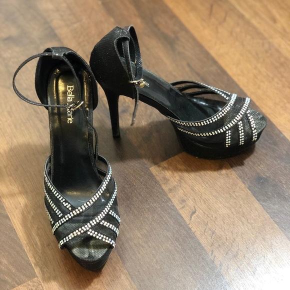 Bella Marie Shoes | Platform Heels